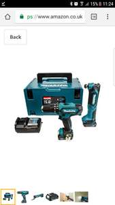 Makita Drill, Multi Tool, 2 x Batteries and Charger and Accessory Kit £149.99 Amazon