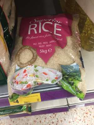 Supreme Rice 5kg - £4 instore @ Morrisons