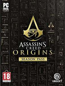 Assassin's Creed Origins Season Pass £19.59 (with UPlay Club Units 20% discount code) [UPlay on PC only]