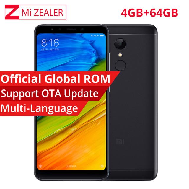 '4GB/64GB' Xiaomi Redmi 5 Plus Global 'B20' 18:9 5 Fingerprint MIUI 9 4000mAh, £129.50 @ Aliexpress/MiZealerStore