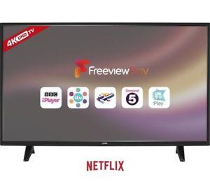 Logik 55 inch Smart 4k LED TV w/ Freeview - £319 @ Currys PCWorld eBay