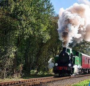 £9 – Staffordshire steam train trip for 2  Churnet Valley Railway - Travelzoo