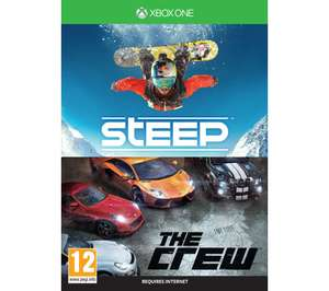 Steep & The Crew (Xbox One) £4.97 Delivered @ Currys (Digital Codes by the looks of it)