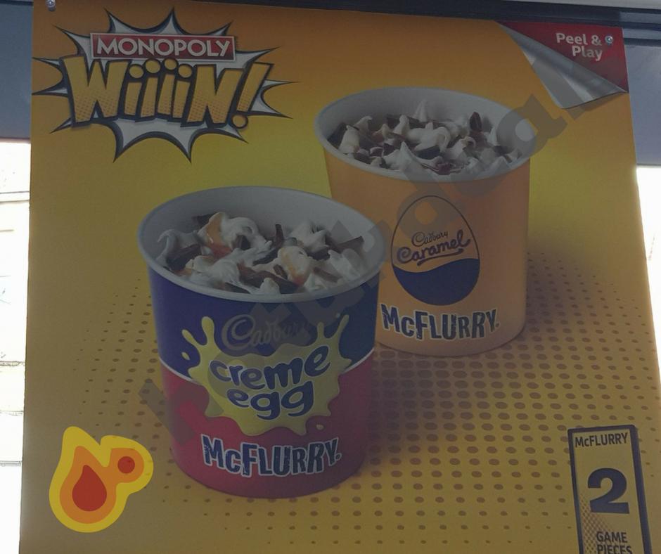 McDonald's launch Creme Egg and Caramel McFlurrys £1.39 @ McDonalds + Peter Rabbit Happy meals