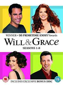 Will And Grace: The Complete Will And Grace (Seasons 1-8) (DVD) £23.99 @ Amazon.co.uk
