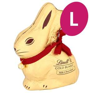 Lindt Gold Bunny Milk Chocolate £4 200G @ Tesco