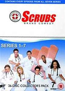 Scrubs series 1-7 £11.50 delivered @ CEX