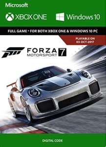 Forza Motorsport 7 Standard (Play Anywhere) Digital code - £27.49 @ Amazon