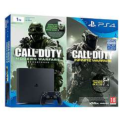 PlayStation 4 1TB New Look Console with Call of Duty: Infinite Warfare Early Access Bundle @ Game - £199.99