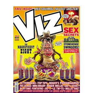 3 copies of Viz for £1, just remember to cancel your subscription.