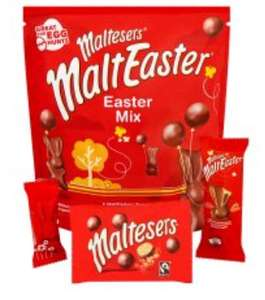 Various Large Chocolate pouches (270g to 512g) - 2 for £5.00 @ Tesco - Celebrations / Galaxy Golden Egg / Haribo Easter Hunt / Cadbury Mini Eggs (Large Sharing Pouch)