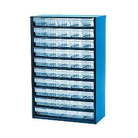 Great Value Product 50-DRAWER METAL STORAGE UNIT - £18.49 @ Screwfix