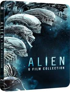 Alien 1-6 - Zavvi Exclusive Limited Edition Steelbook: bluray - £27.99 @ Zavvi