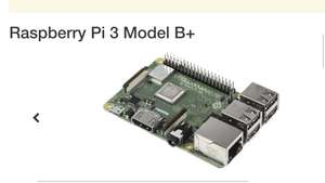 Raspberry Pi 3 Model b+ - £34.07 @ RS Components