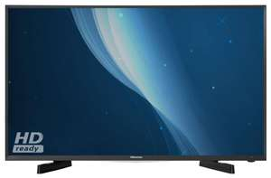 Hisense 32M2600 32 inch Smart LED TV HD Ready Freeview £219 with 6 Year Guarantee @ Richersounds