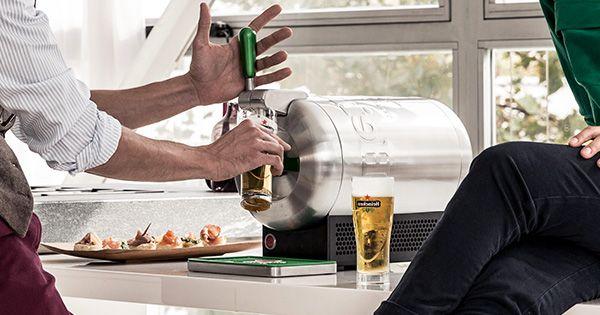 16 Heineken Beer Torps (short dated) for £69.99 42 % off delivered £4.37 each - The Sub