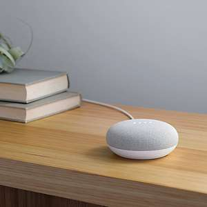 Google Home Mini Hands-Free Smart Speaker Free Click n Collect at John Lewis - £34