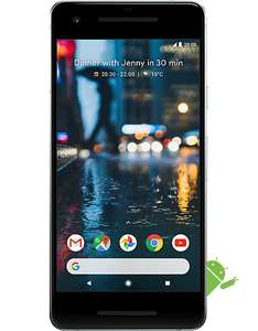 Google Pixel 2 64gb EE 8gb, unlimited mins & txt £29.99 upfront & free wireless charger £30pm x 24 months = £749.99 @ CPW