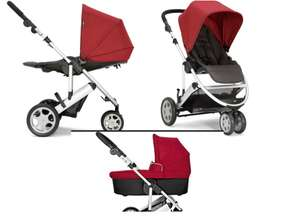 RED - Mamas & Papas Zoom Package Pushchair and Carrycot £146.99 @ Argos / Argos ebay