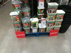 Ronseal Fence Life normal and sprayable - £4 instore @ B&Q (Redditch)