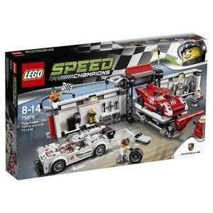 Tesco Ebay Retired LEGO set 75876 Porsche 919 Hybrid and 917K Pit Lane for £59