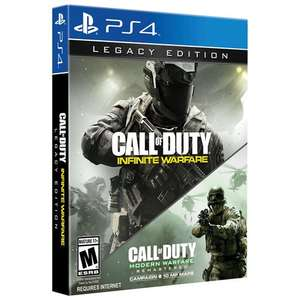 Call of Duty: Infinite Warfare Legacy Edition PS4 @Tesco Direct £10.00