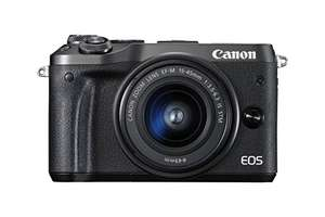 Canon EOS M6 with EF-M 15-45mm kit, Amazon Germany for £536.77