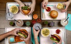 Free Vurger / Burger Shoreditch London first 200 people from 11:30AM Sat 24 March