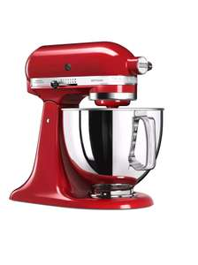 Manufacturer refurbished KitchenAid Artisan 5KSM125BCU Stand Mixer - £239.99 with code ebay / KitchenAid Outlet now only Candy Apple available
