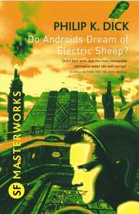 Amazon Kindle Deal of the Day - Do Androids Dream of Electric Sheep? by Philip K. Dick 99p