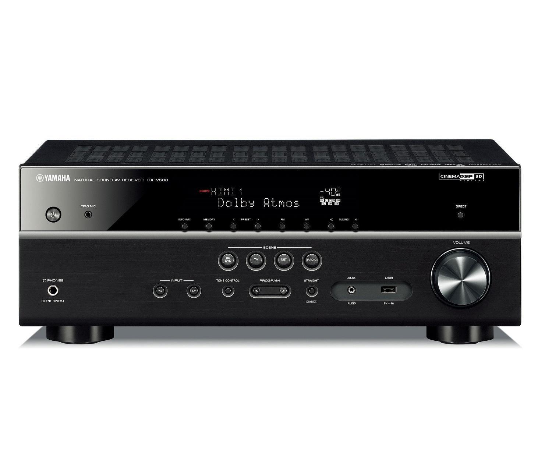 Yamaha RXV583 (Black) Atmos AV Receiver £299 @ RicherSounds
