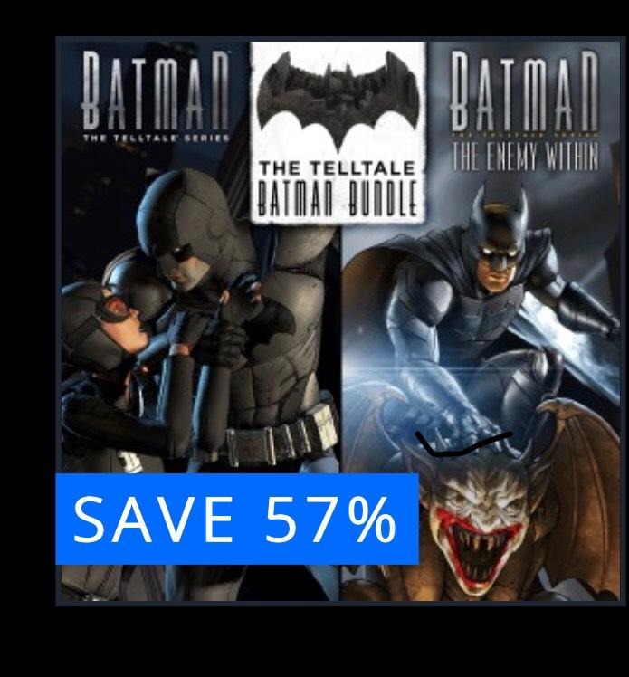 The Telltale Batman Bundle , PS4, £14.99 @ PlaystationStore