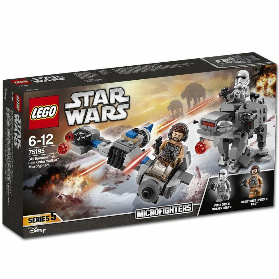 LEGO Star Wars 75195 Ski Speeder vs First Order Walker Microfighters £11 @Tesco Direct (Free C+C)