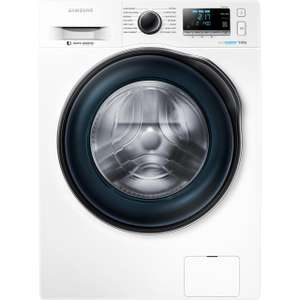 Samsung Ecobubble WW90J6410CW 9Kg Washing Machine with 1400 rpm – White – A+++ Rated with code £379 at AO