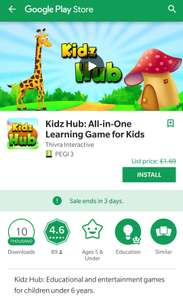 Kids Hub: AIO Learning Game free on Google Play
