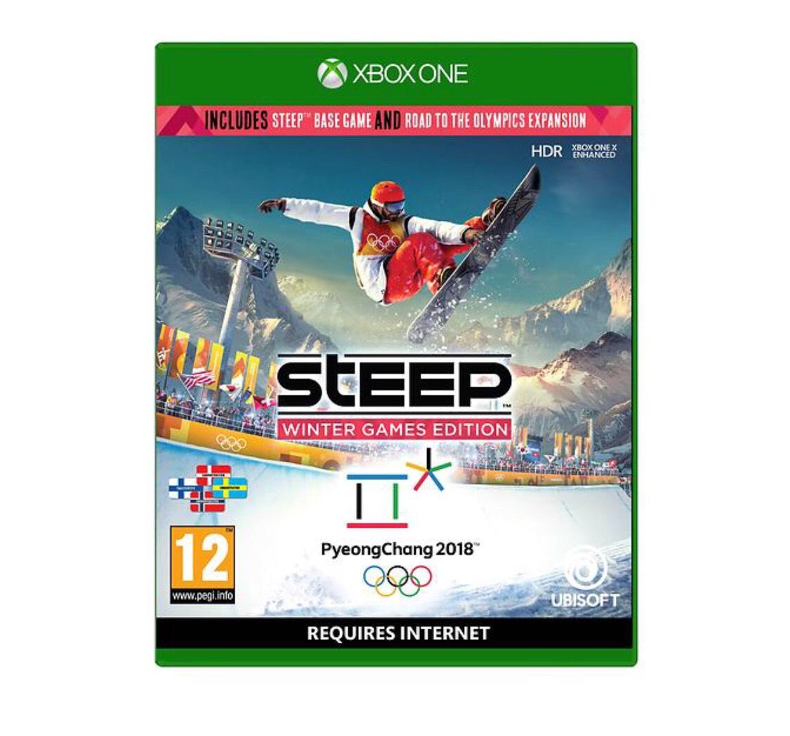 Steep: Winter Games Edition Xbox / PS4, £16.99 (Prime) / £18.98 (non Prime) at Amazon