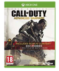 Call of Duty: Advanced Warfare Gold Edition (Xbox One) , £4.99 (pre-owned) @ Game