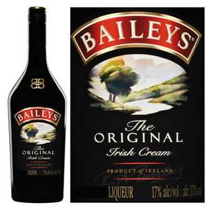Baileys Original Irish Cream Liqueur 1L or Orange Truffle 1L or Coffee for £12 @ Tesco (from Fri 23/03)