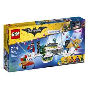 LEGO 70919 Batman Movie The Justice League Anniversary Party £19.99 prime / £23.98 non prime @ Amazon