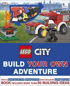 LEGO® City Build Your Own Adventure Book With Minifigure + Exclusive Fire Engine Model £5.39 Prime / £8.38 Non Prime @ Amazon