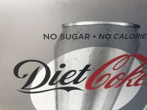 Diet Coke 24x330 ml £4.78 instore @  Tesco express Birmingham