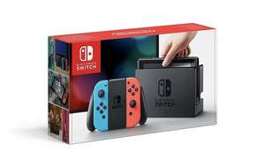 Nintendo Switch Console Bundle Neon With Mario Kart 8 Deluxe £299 @ Tesco