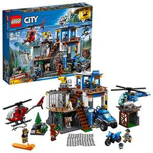 LEGO 60174 City Police Mountain Police Headquarters £47.98 @ Amazon