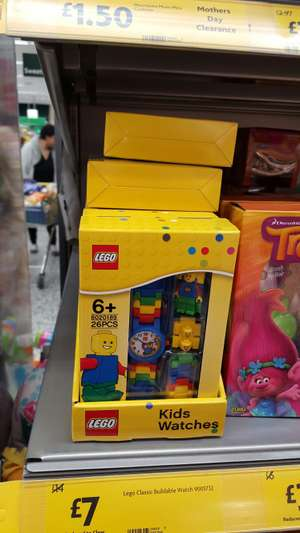 Lego Buildable Watch Classic only £7 in-store @ Morrisons Swinnow, Bramley.