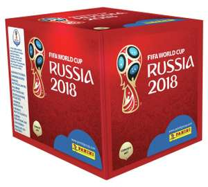 Panini World Cup 2018 Stickers - 100 packets £69.99 @ Argos