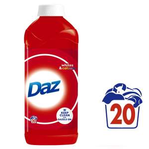 Daz Regular Liquid Laundry Detergent, 20 Washes, 1L £1.99 @ Savers