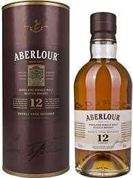 Aberlour 12 Year Old 70cl, £25 at Amazon. Free Next Day Delivery with Prime