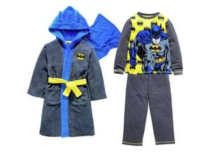 Batman Robe and Pyjamas 2 yrs - 8 yrs now for £12.49 @ Argos
