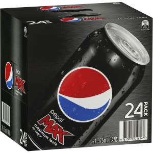 Iceland Pepsi max cans 24 – £4.99 in store discount offer