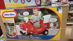 Little Tikes Spray & Rescue Fire Truck in-store £20 at Debenhams in Chatham